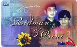 INDONESIA INDONESIEN - Telepin Wedding Bidwan And Bini 15 November 1998.- MINT   RRR - Indonesia