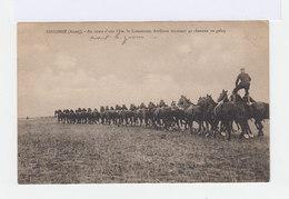 Sissonne. Aisne. Fête. Lieutenant Arrêteau Montant 40 Chevaux Au Galop. (2682) - Militaria