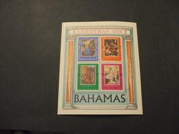 BAHAMAS  - BF 1976 NATALE QUADRI - NUOVI(++) - Bahamas (1973-...)