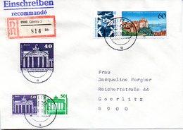 """(Gm2) BRD Übergangs-Brief """"Mischfrankatur: DDR, Deutsche Post, BRD TST 10.9.90 GÖRLITZ 3 - Briefe U. Dokumente"""