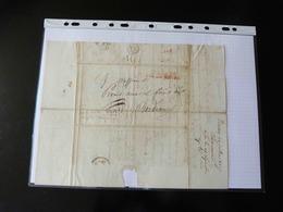 LETTRE DE BOSTON POUR BORDEAUX    1827   AVEC CACHET COLONIES PAR LE HAVRE - 1801-1848: Precursors XIX