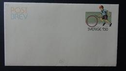 Sweden - 1981 - Mi: F 8* - Postal Stationery - Look Scan - Ganzsachen