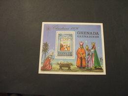GRENADA GRENADINES  - BF 1976 NATALE QUADRI - NUOVI(++) - Grenada (1974-...)