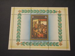 GRENADA  - BF 1971 NATALE QUADRI - NUOVO(++) - Grenada (...-1974)