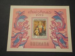 GRENADA  - BF 1975 NATALE QUADRI - NUOVO(++) - Grenada (...-1974)