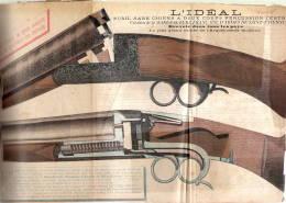 Manufacture Française Armes St Etienne N°44    1896 - Advertising