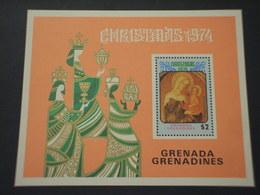 GRENADA  GRENADINES - BF 1974 PASQUA QUADRO - NUOVO(++) - Grenada (...-1974)