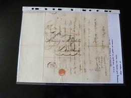 LETTRE DU HAVRE POUR BORDEAUX  1825 - 1701-1800: Précurseurs XVIII