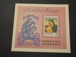 GRENADA  GRENADINES - BF 1975 PASQUA QUADRO - NUOVO(++) - Grenada (...-1974)