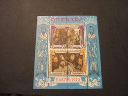 GRENADA   - BF 1970 PASQUA QUADRI - NUOVO(++) - Grenada (...-1974)