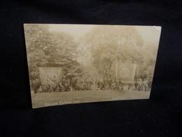 Royaume - Uni .Sussex.Church Parade 1908. Poynings . Carte Photo .Voir 2 Scans . - Autres
