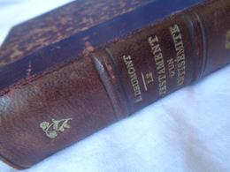 E. DRUMONT - FRANCE - Livre Ancien - Le Testament D'un Antisémite - 1891 - Livres, BD, Revues