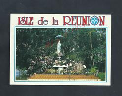 CPSM DE L ILE DE LA RÉUNION LE GRAND BRULÉ NON ECRITE : - Réunion