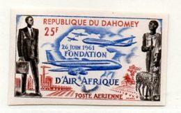 République Du Dahomey, N° PA 21** Non Dentelé. 26 Juin 1962, Fondation D'Air Afrique. - Stamps