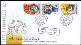 Cyprus 2002 / European Philatelic Exhibition EUROPHILEX '02 / Abduction Of Europa - Expositions Philatéliques