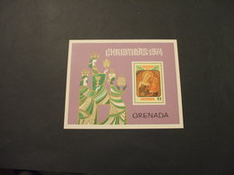 GRENADA   - BF 1974 NATALE  QUADRI - NUOVO(++) - Grenada (...-1974)