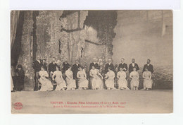 Troyes. Grandes Fêtes Littéraires Août 1913. Avant La Cérémonie De Couronnement De La Muse Des Muses. (2691) - Troyes