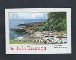 CPSM DE L ILE DE LA RÉUNION SAINTE ROSE NON ECRITE : - Réunion