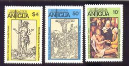 ANTIGUA # 533-5  MINT N.H   STAMPS  OF EASTER  1979 - Antigua And Barbuda (1981-...)