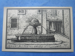 83-SALERNES Vieille Fontaine - Salernes