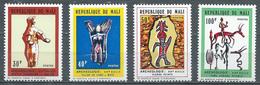 Mali YT N°172/175 Archéologie Neuf ** - Mali (1959-...)