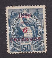 Guatemala, Scott #78, Mint Hinged, National Emblem Surcharged, Issued 1898 - Guatemala