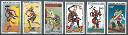 Mali YT N°177/182 Danses Folkloriques Neuf ** - Mali (1959-...)