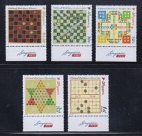 Singapore 2016 Traditional Board Games, Chinese Chess, Diamond Game, Snakes And Ladders, Checkers, Aeroplane Chess MNH - Singapore (1959-...)