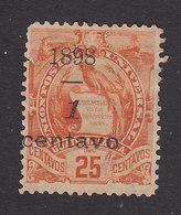 Guatemala, Scott #80, Used, National Emblem Surcharged, Issued 1898 - Guatemala