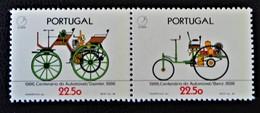 AUROMOBILES ANCIENNES 1985 - PAIRE NEUVE ** - YT 1663/64 - MI 1686/87 - 1910 - ... Repubblica