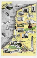 LE LITTORAL NORD - N° 3 - CARTE - FORMAT CPA NON VOYAGEE - France