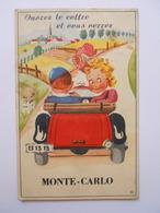 Carte à Tirette Accordéon De Monaco Monte-Carlo - Monaco