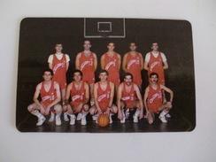 Sports Basketball Basquetebol D.Pasolini Portugal Portuguese Pocket Calendar 1988 - Calendars