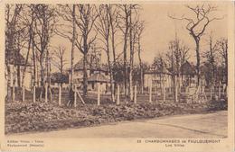 FAULQUEMONT EN MOSELLE  CHARBONNAGES  LES VILLAS  CPA  CIRCULEE - Faulquemont