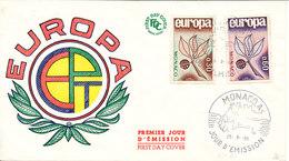 Monaco FDC Europa CEPT 25-9-1965 With Cachet - Europa-CEPT