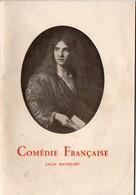 Vieux Papiers > Non Classés Comédie Française Salle Richelieu Programme - Alte Papiere