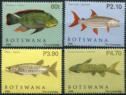 Botswana. 2006. Fishes Of Okavango Delta (MNH OG **) Set Of 4 Stamps - Botswana (1966-...)