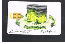 FRANCIA (FRANCE) -    2000  F. HYBERT: ARC DE TRIOMPHE, PARIS   - USED°- RIF. 10914 - France