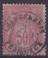 Yvert N° 98 Oblitéré Chargements Perigueux - Marcophilie (Timbres Détachés)