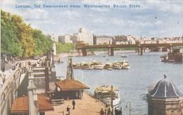 LONDRES WESTMINSTER BRIDGE STEPS (dil363) - River Thames