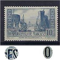 "FR YT 261c  TII "" Port De La Rochelle, Bleu "" 1930 Neuf** - France"