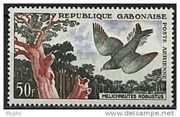 Gabon, PA N° 004** Y Et T, 4,  Oiseau - Gabon