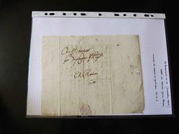 LETTRE DU HAVRE POUR ROUEN   1802 - 1801-1848: Précurseurs XIX