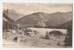 Suisse. Lac Champex Et Grand Combin (1463) - VS Valais