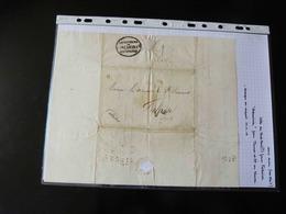 LETTRE DES ETATS UNIS POUR FALAISE   VERS 1820 - 1801-1848: Precursors XIX