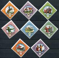 Mongolia. 1959. Mongolian Sports () Set Of 8 Stamps - Mongolia