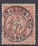 Yvert N° 94 Oblitéré Chargements Perpignan - Marcophilie (Timbres Détachés)