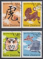 NUEVA ZELANDA 2009 Nº 2566/69 USADO - Nueva Zelanda