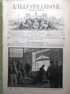 L'illustrazione Italiana 6 Marzo 1887 Terremoto Diano Marina Dogali Separazione - Vor 1900