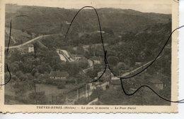 CPA .D69 .Treves Burel . La Gare. Le Moulin.. Le Pont Percé. - Andere Gemeenten
